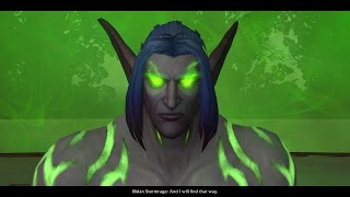 WoW: Legion - Illidan's story playthrough part 2 - 1080p 60fps - No commentary