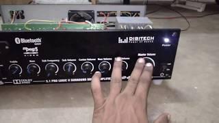 stk 4141 heavy 5.1 amplifier