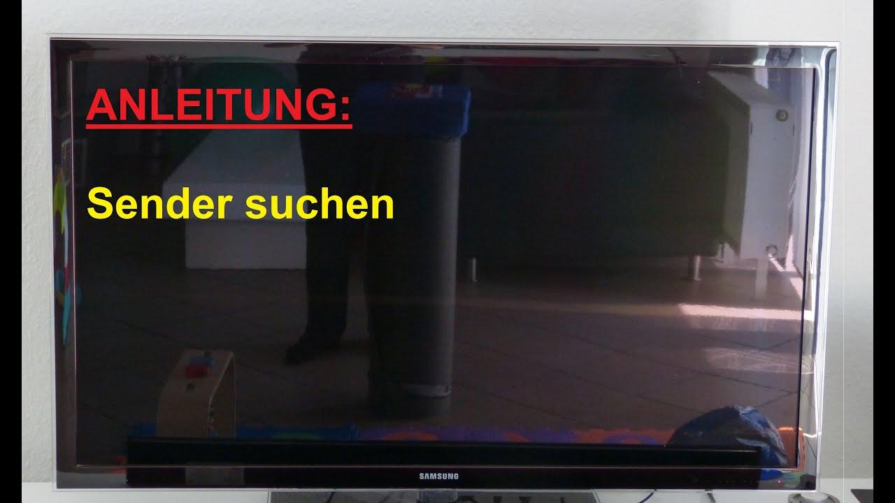 Samsung Smart Tv Sender Suchen Und Einstellen Anleitung Youtube