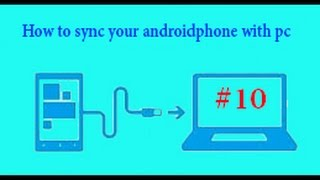[Hindi]How To Sync Android Phone In Computer(without internet,data cable)