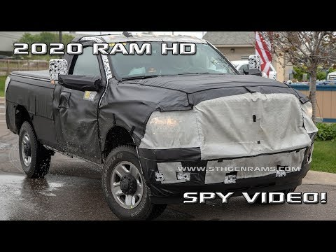 2019 Ram HD models caught testing