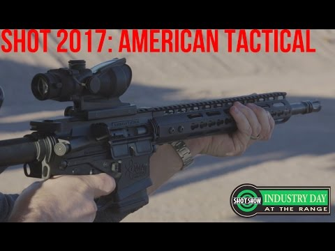 Industry Range Day: American Tactical Imports   SHOT 2017
