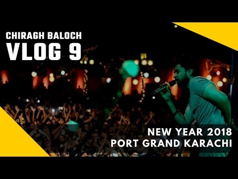 Vlog 9 | New Year 2018 | Port Grand Karachi
