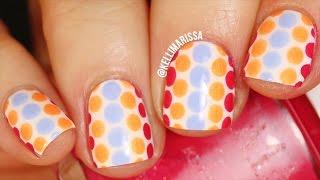 EASY Polka Dot Nail Art Design Tutorial || KELLI MARISSA