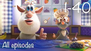 Booba - Compilation of All 40 episodes + Bonus - Cartoon for kids