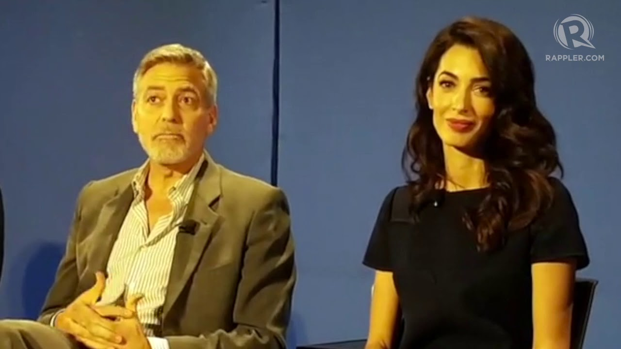 George Clooney throws support behind Maria Ressa