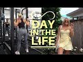 Day in the life II Full Body Weights Workout + Creating Content
