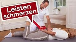 Leistenschmerzen   Faszientraining & Übungen vom Schmerzspezialisten   Liebscher & Bracht