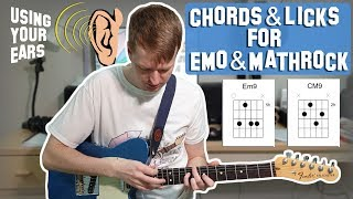 How to Write Licks With Chords For Math Rock and Emo