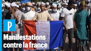 Des musulmans manifestent contre la France dans plusieurs pays d'Asie et du Proche-Orient