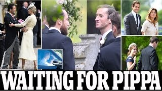 pippa middleton wedding | James Matthews arrives at the church as he awaits bride pippa middleton