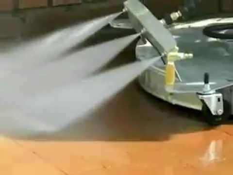 Pressure Washer Gun >> Water Broom - Hydro Twister - Pressure Washer - Hydro Tek - Dan Swede 800-666-1992 - YouTube