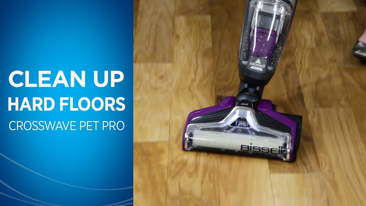 How To Clean Hard Floors With Your Crosswave Pet Pro