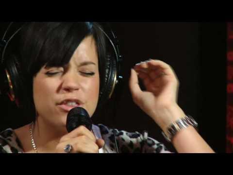Lily Allen -- The Fear -- LIVE acoustic version @ Studio Q