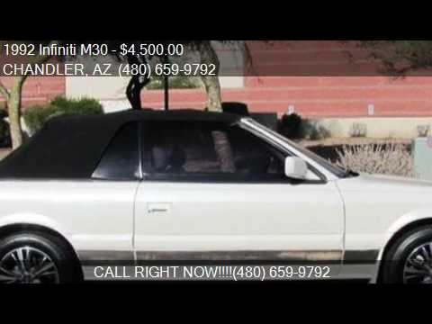 1992 Infiniti M30 Base 2dr Convertible For Sale In CHANDLER