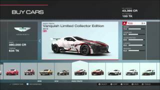 Forza 5 Limited Edition Car Pack 5 Cars (with Gameplay)