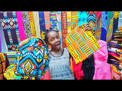 Shopping At The Biggest Market in Gambia!/Give Away!!! Serrekunda Market.
