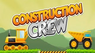 Construction Machines at Work | Cartoon for Kids | ForkLift Excavator Tower crane Wheel loader