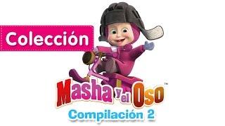 Masha y el Oso - Compilación 2 (20 minutos) Capitulos Completos Nuevos!
