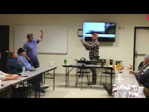 Jordan Cable USMC Staff Sergeant - Co Leads First Rod Building Class