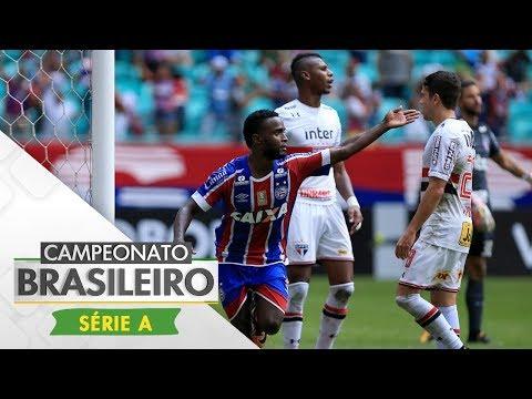 Melhores Momentos - Gols de Bahia 2 x 1 Sâo Paulo - Campeonato Brasileiro (06/08/2017)