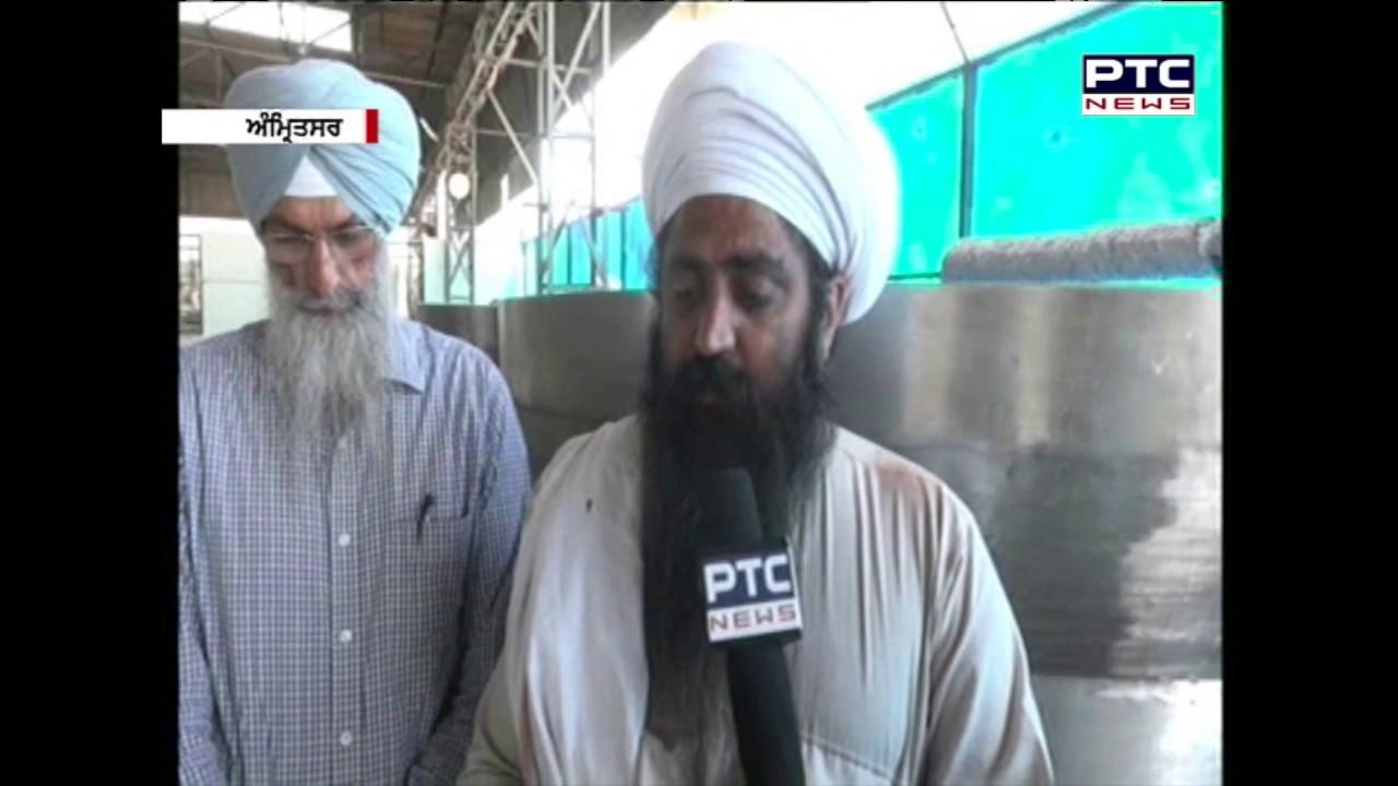 Langar Preparation through Steam   Gurudwara Shahid Ganj   Amritsar