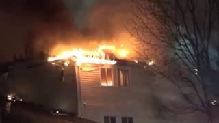 Stucture Fire John Robinson LN, Dumfries,VA