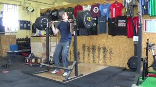 Mike Weightlifting - Jerk training - 3 x 3 Weight