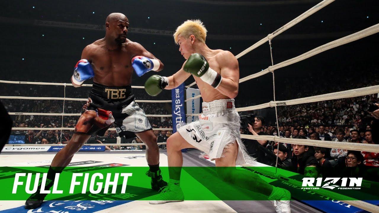 Full Fight | フロイド・メイウェザー vs. 那須川天心 / Floyd Mayweather vs. Tenshin Nasukawa - RIZIN.14