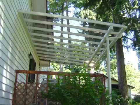 Do it yourself patio covers skyvue patio covers youtube for Do it yourself patio covers