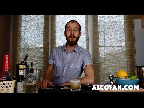 Виски Сауэр (Whiskey Sour) - классический рецепт коктейля