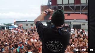 Lil Xan Tribute to Lil Peep in Long Island, NY [Billboard Hot 100 Fest 2018]