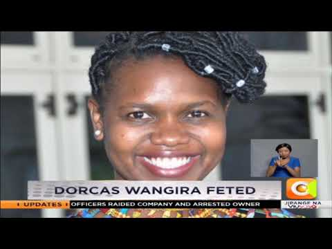 Citizen TV reporter Dorcas Wangira awarded in New York