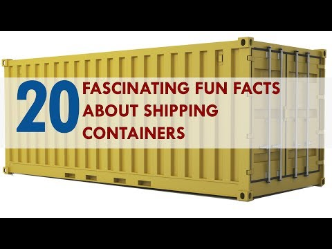 20 Most Fascinating Shipping Container Fun Facts you Never Knew 2018 | SHELTERMODE