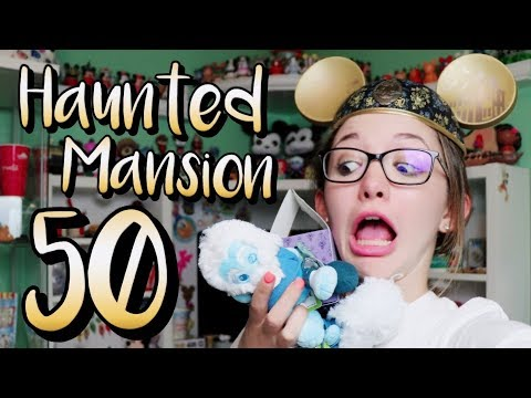 exclusive-haunted-mansion-50th-anniversary-merchandise!!-wishables,-kingdom-of-cute,-&-more!