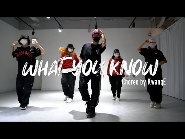 EZDANCE I 잠실점 I 이지댄스 I ILLIONAIRE RECORDS - '뭘 알어(What You Know)' CHOREOGRAPHY by KawngE