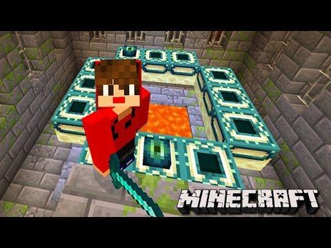 Minecraft: DUPLA SURVIVAL - ENCONTREI o PORTAL DO FIM!!! #18