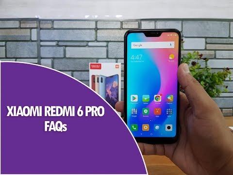 Xiaomi Redmi 6 Pro FAQs- Sensors, LED Notification, USB OTG, Fast Charging, Software And Camera