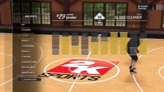 NBA 2K17 | 96 Ovr Glass  (GOD) Cleaner Attribute Update  # 1