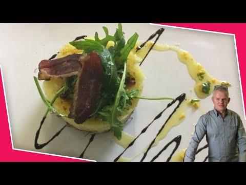 parmentier de canard confit au foie gras et noisettes torr fi es secret de cuisine youtube. Black Bedroom Furniture Sets. Home Design Ideas
