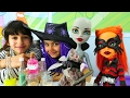 Monster High bebekleri ile eğlenceli oyunlar