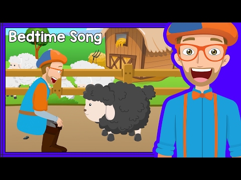 Thumbnail: Bedtime Songs with Blippi | Baa Baa Black Sheep - Lullaby for Sleep
