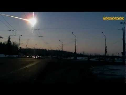 Russian Meteor Crash Compilation - All Videos in One