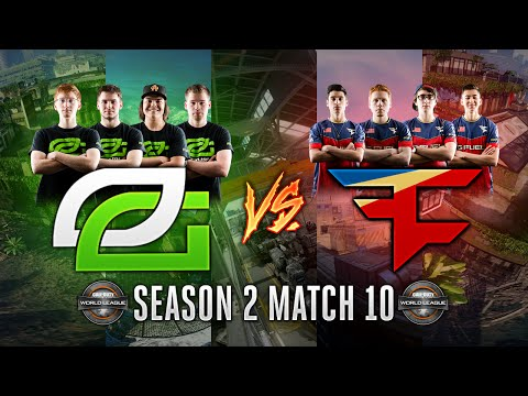 The Reverse Sweep - OpTic Gaming vs. FaZe - Call of Duty World League