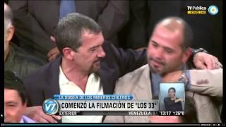 """Visión 7: Filman """"Los 33"""", dedicada a los mineros chilenos sobrevivientes"""