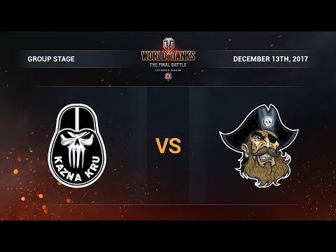 Kazna Kru vs Seven Pirates. The Final Battle. Group B