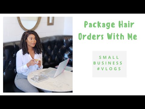 Pack orders with me VLOG | Boss Babe Series | Small Business Vlogs