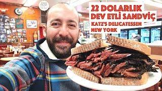 22 Dolarlık Dev Etli Sandviç: Katz's Delicatessen New York