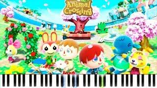 Video Animal Crossing ~ New Leaf - K.K. Jongara Aircheck (3DS) - by alexsteb [Piano Tutorial] // Synthesia download MP3, 3GP, MP4, WEBM, AVI, FLV Juni 2018