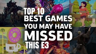 top 10 games you missed this E3 2018